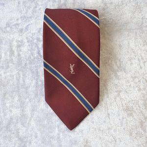 Yves Saint Laurent Tie Silk Necktie